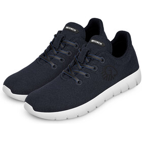 Giesswein M's Merino Runners Mid Shoes Dk.blue